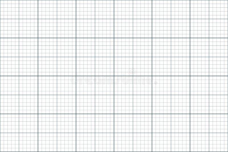 座标图纸 无缝的模式 建筑师backgound 毫米栅格 向量 皇族释放例证