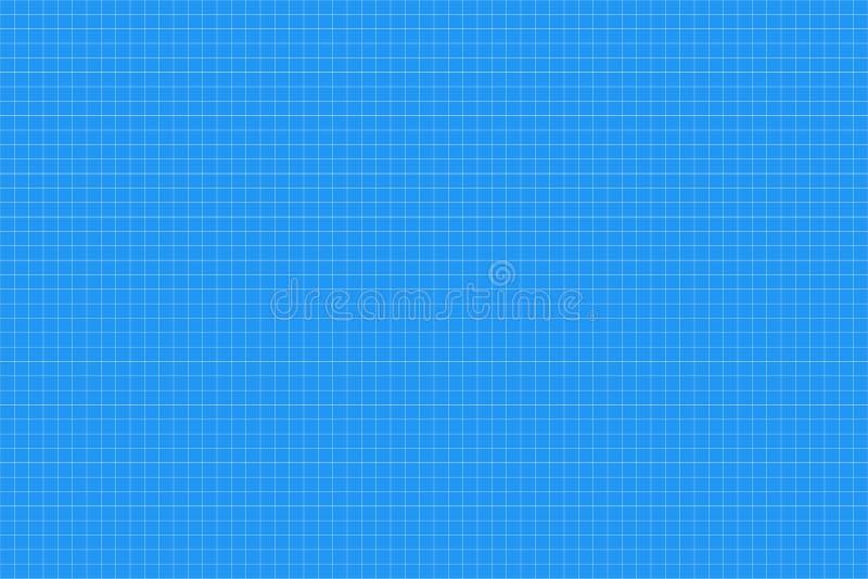 座标图纸 无缝的模式 建筑师backgound 毫米栅格 向量 向量例证