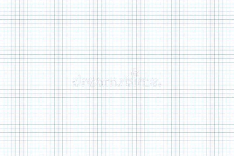 座标图纸 无缝的模式 建筑师backgound 毫米栅格 向量 库存例证