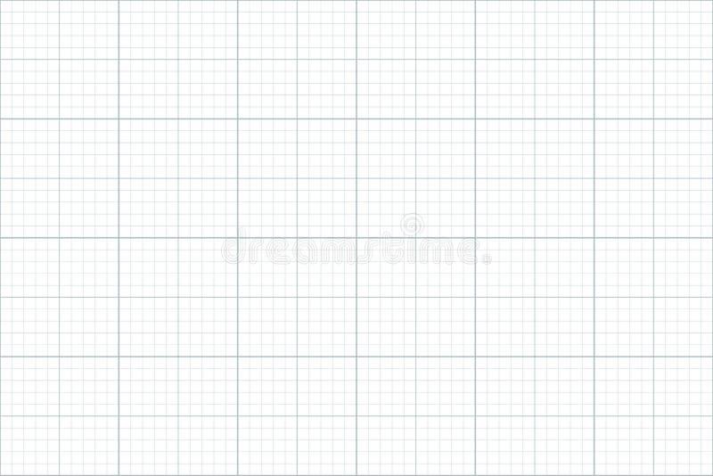 座标图纸 无缝的模式 建筑师backgound 毫米栅格 皇族释放例证