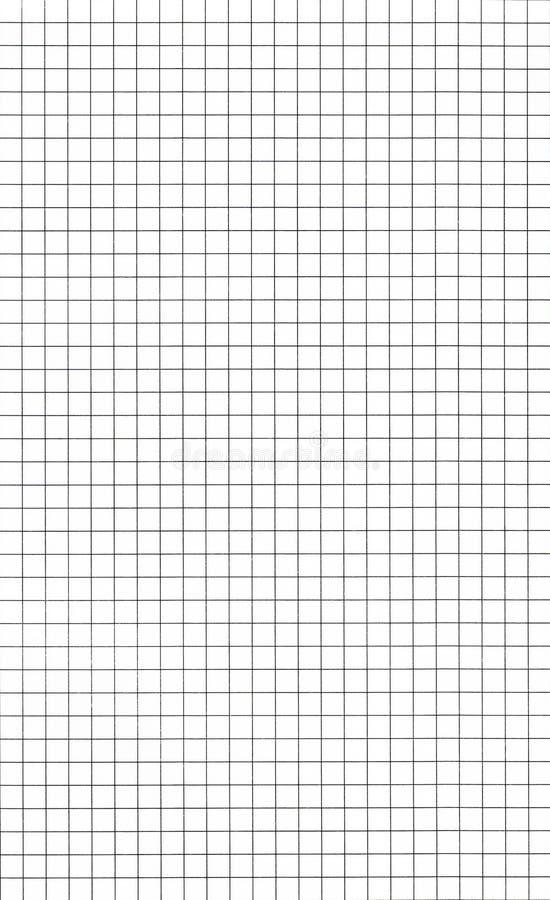 座标图纸 免版税库存图片
