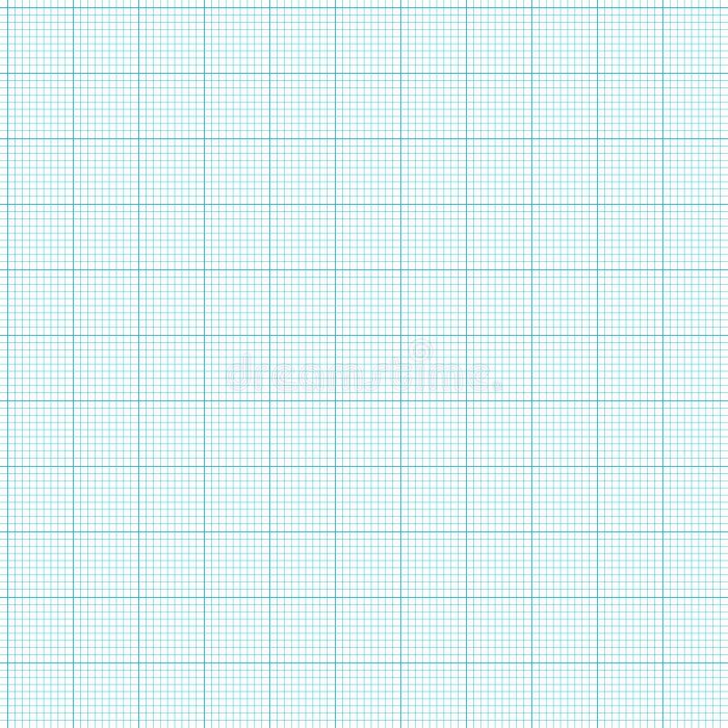 座标图纸 向量例证
