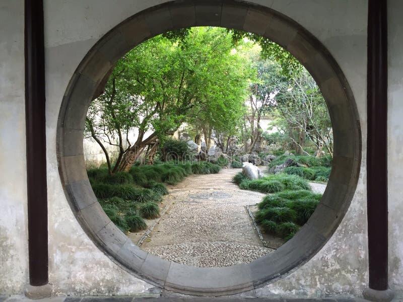 庭院中国式 库存照片