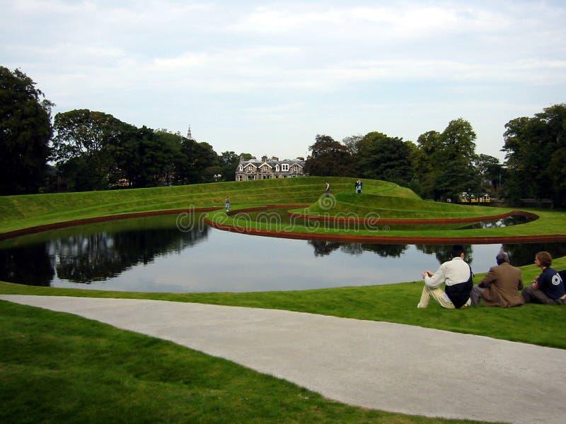 庭院使苏格兰环境美化 库存图片