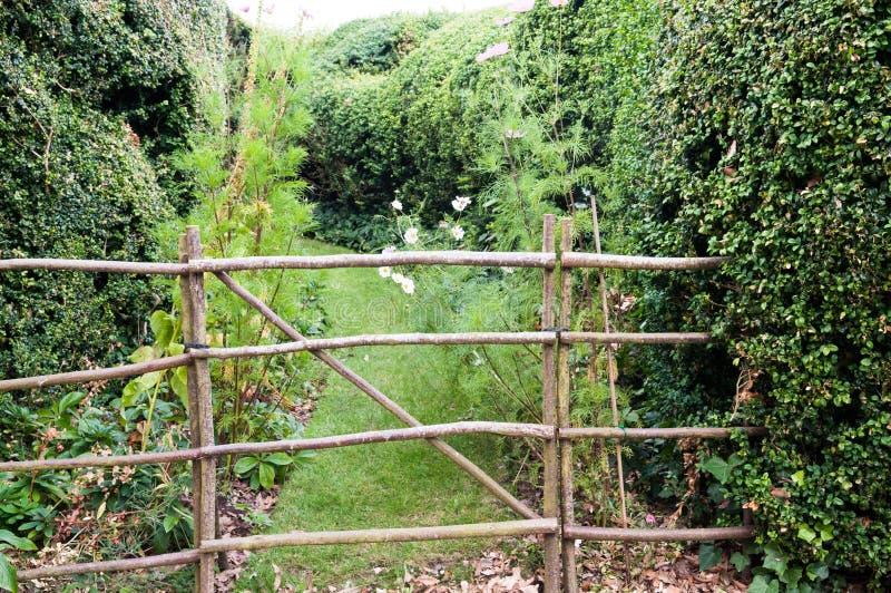 庭院入口 库存图片