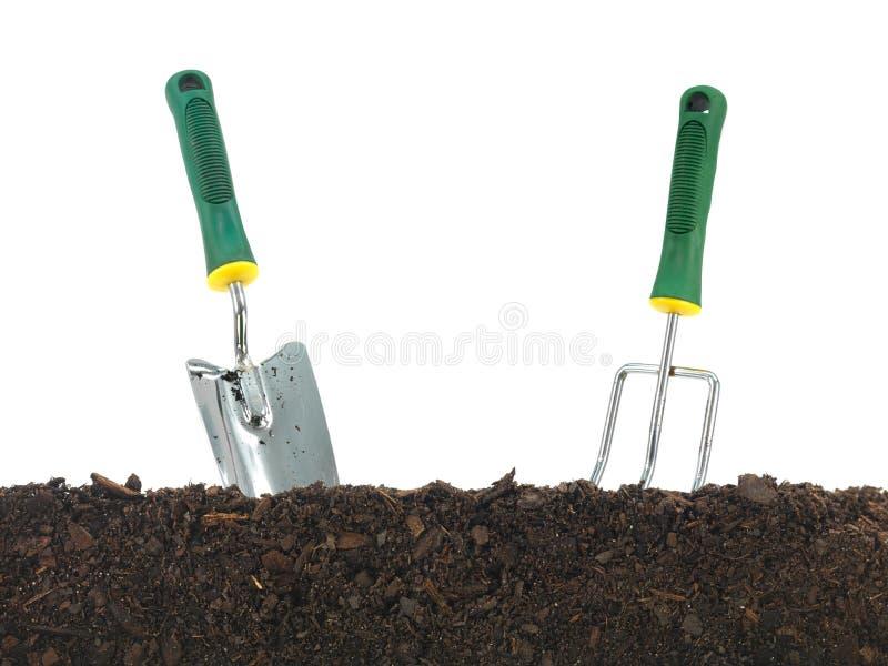 庭院土壤 免版税库存照片