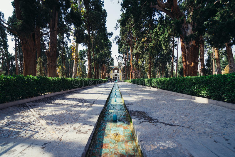 庭院在喀山 免版税库存图片