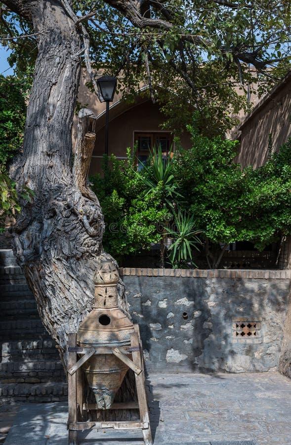 庭院在喀山 库存照片