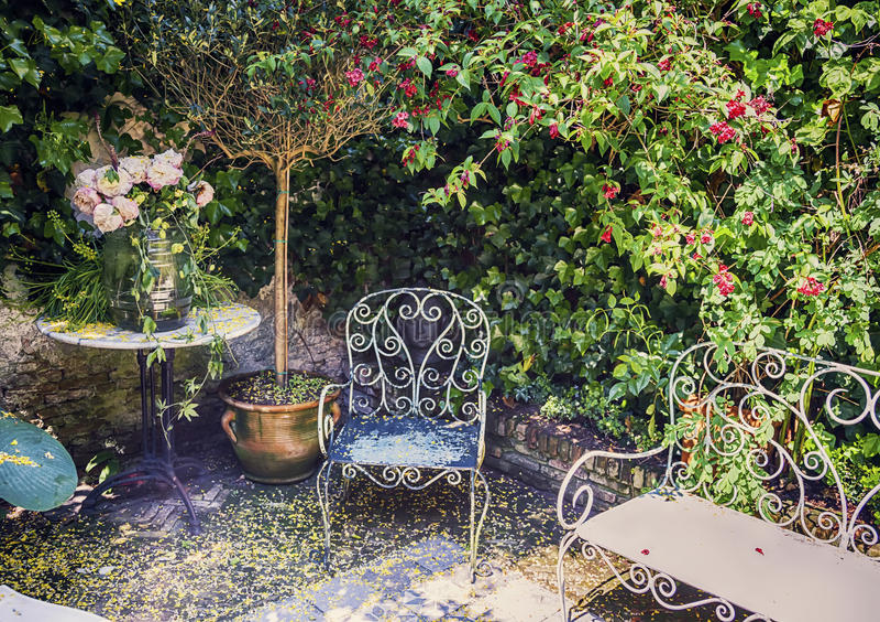 庭院地方 库存照片