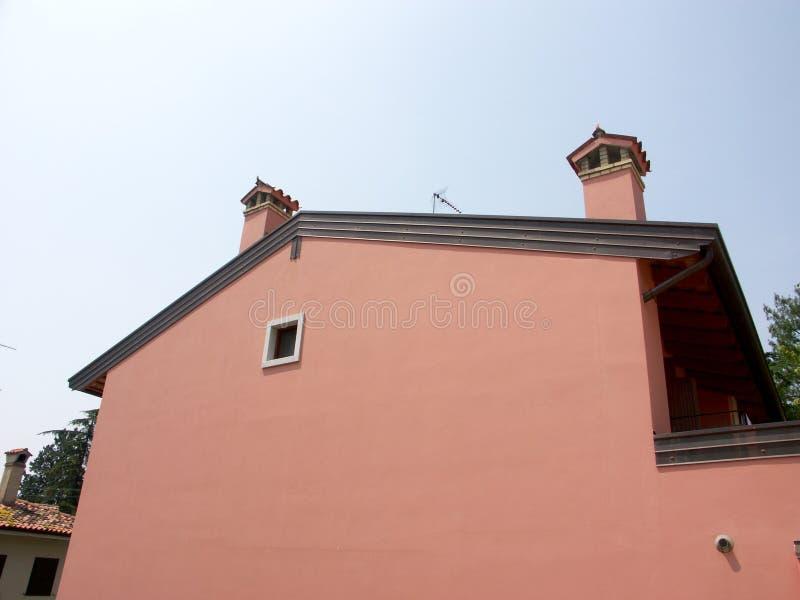 庭院墙壁 免版税库存图片