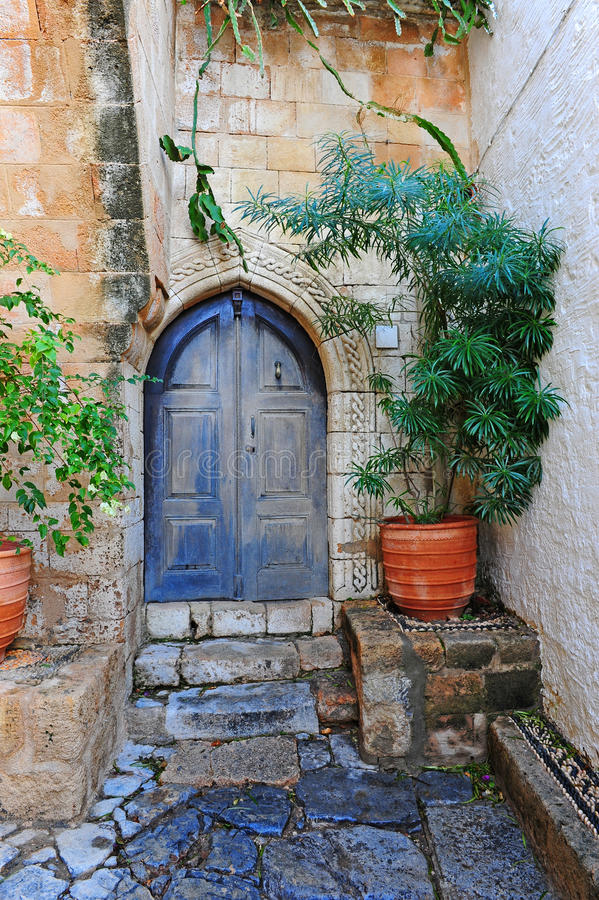 庭院希腊 库存图片