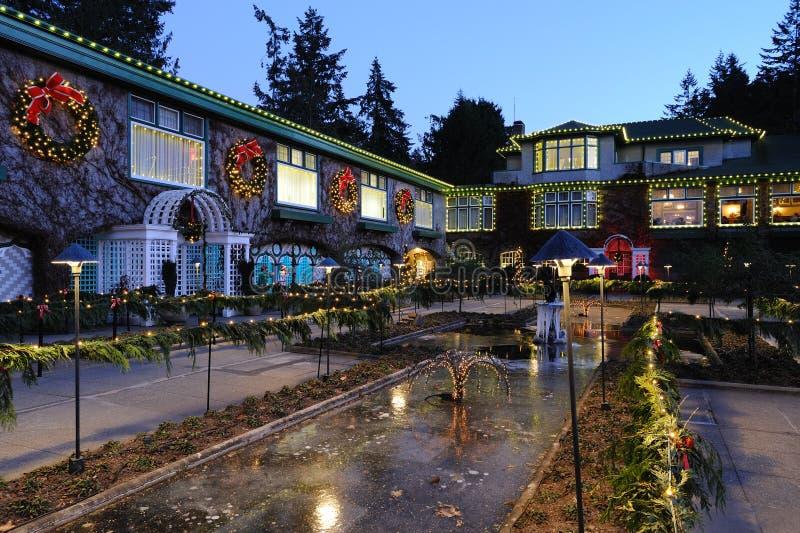 庭院意大利照明设备 库存图片