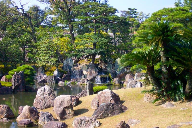 庭院日本人岩石 图库摄影