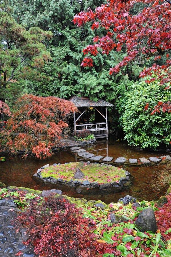 庭院日本人环境美化 免版税图库摄影