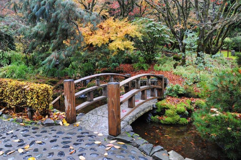 庭院日本人环境美化 免版税库存照片