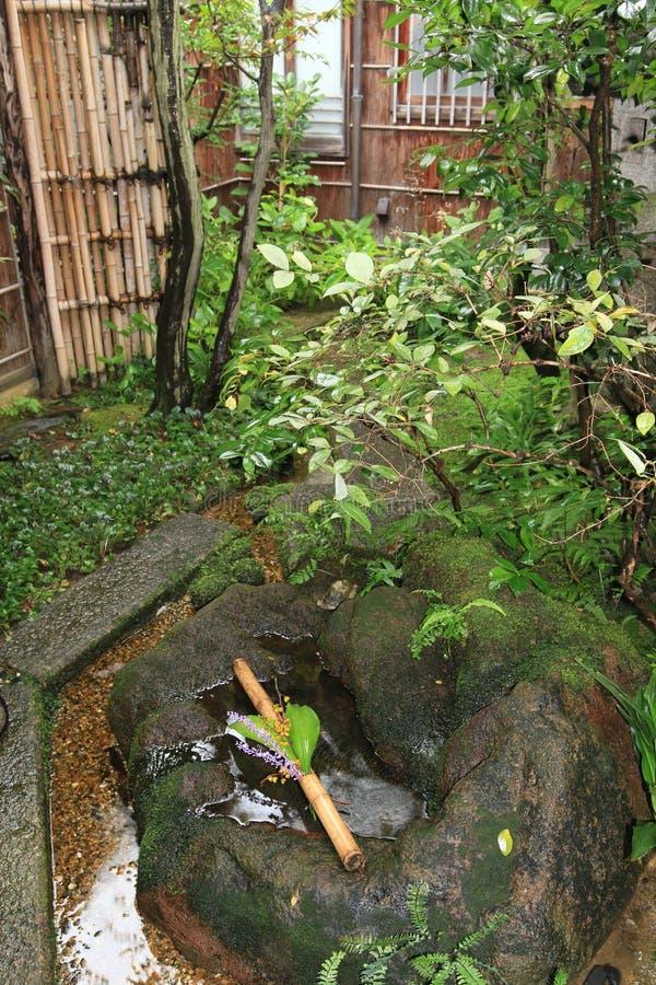 庭院日本平静 免版税图库摄影