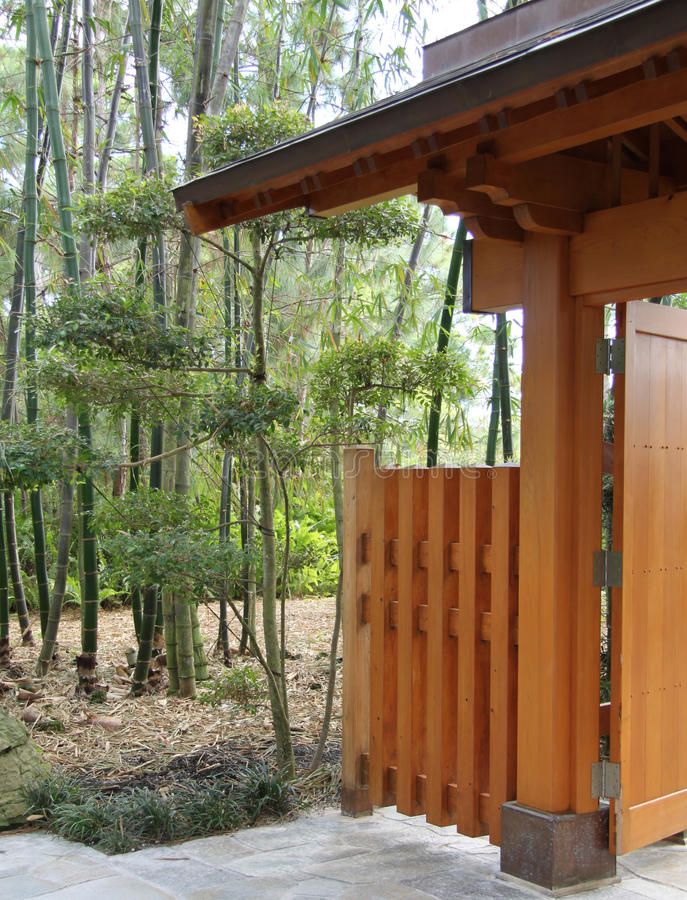 庭院日语 库存图片