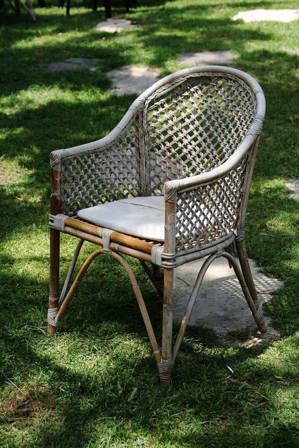 庭院椅子 免版税库存照片