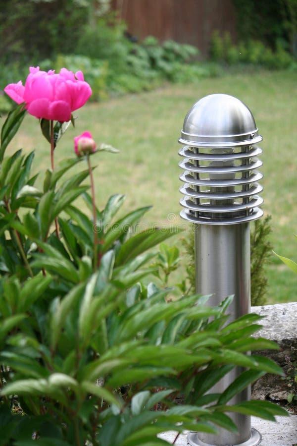 庭院照明设备 免版税图库摄影