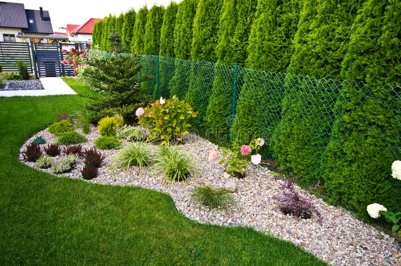 图片 包括有 bedaub, 庭院, 从事园艺, 整洁, 花圃 - 100209118图片