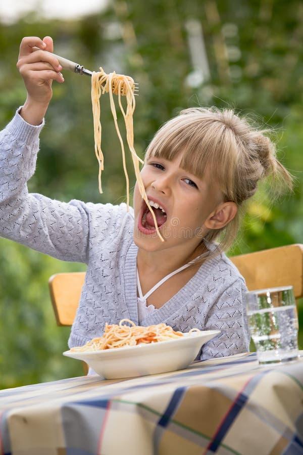 庭院膳食 库存图片