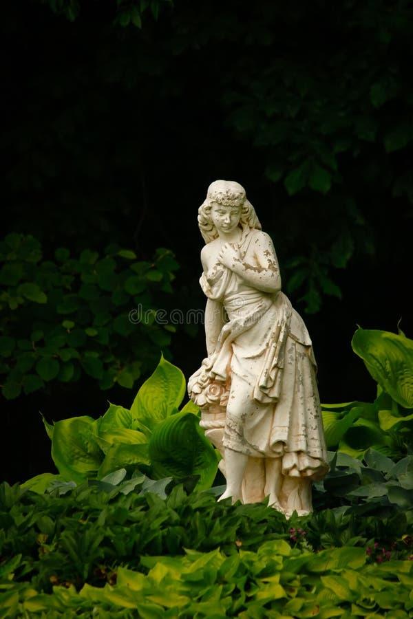 庭院雕象 库存照片
