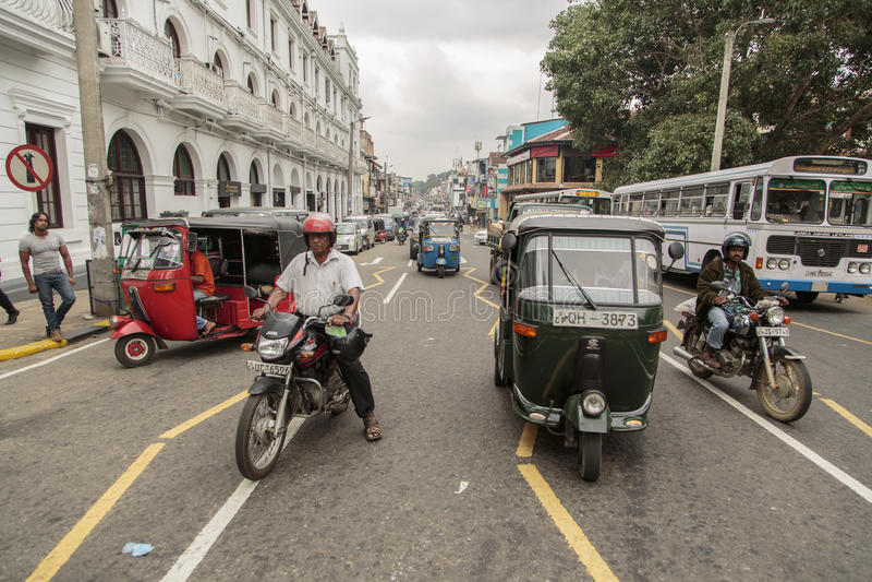 康提,斯里兰卡 免版税库存图片