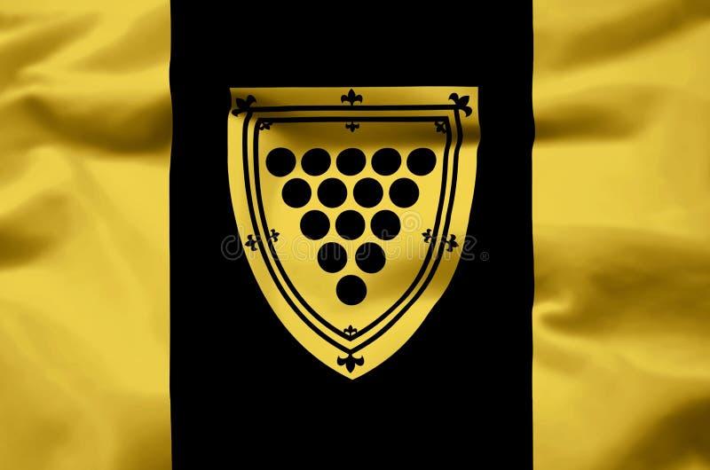 康沃尔郡安大略现实旗子例证 皇族释放例证