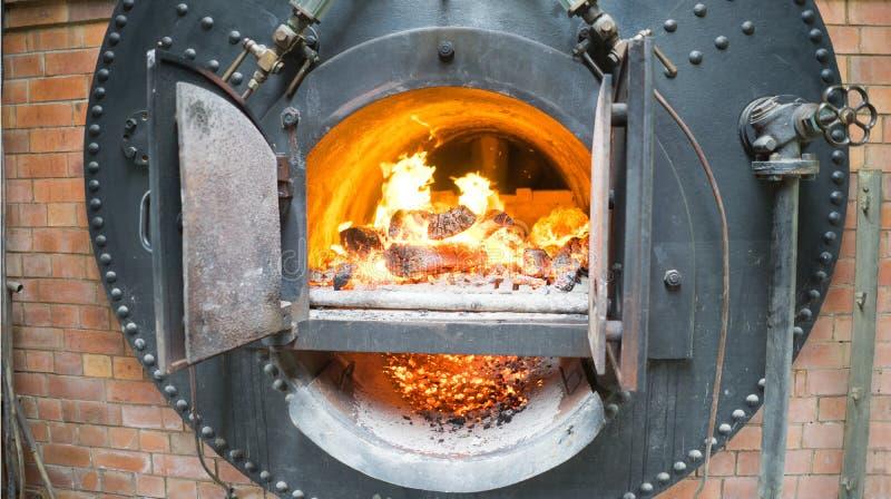 康沃尔锅炉 库存图片