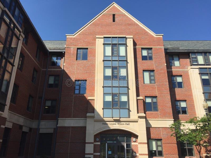 康涅狄格大学的(宿舍房间; UConn)在Storrs,康涅狄格 免版税库存图片