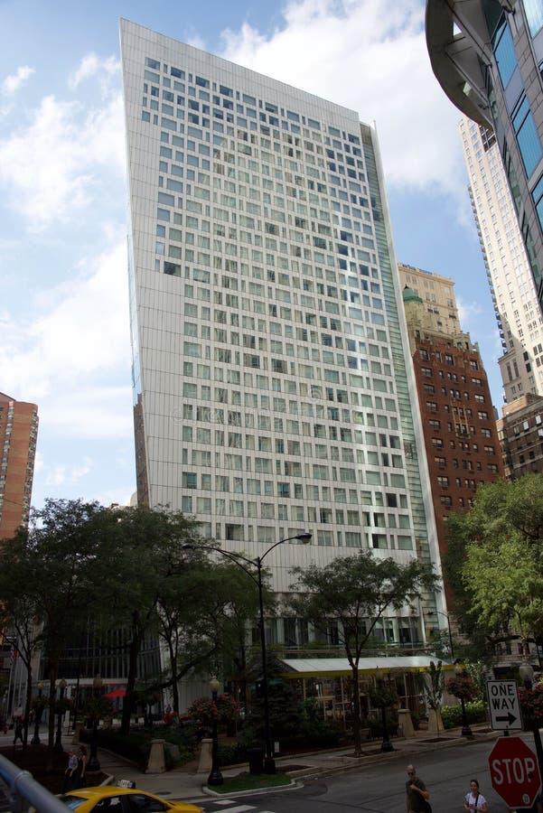 康纳公园大厦,芝加哥,伊利诺伊 免版税库存照片