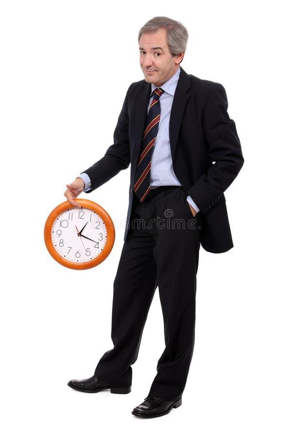 延迟工作 免版税库存图片