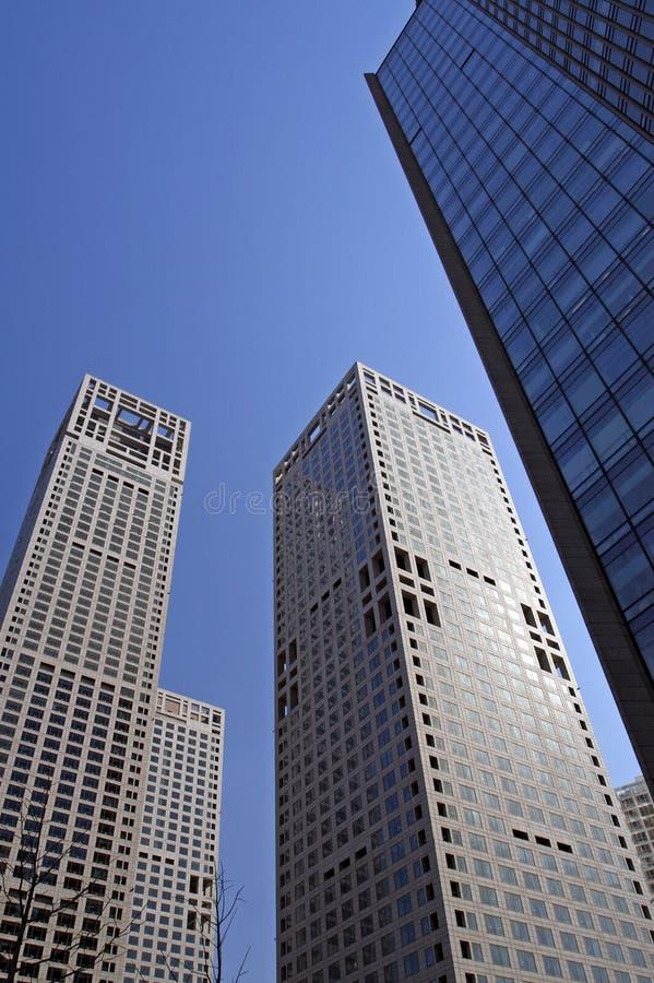 建立现代办公室的北京 库存图片