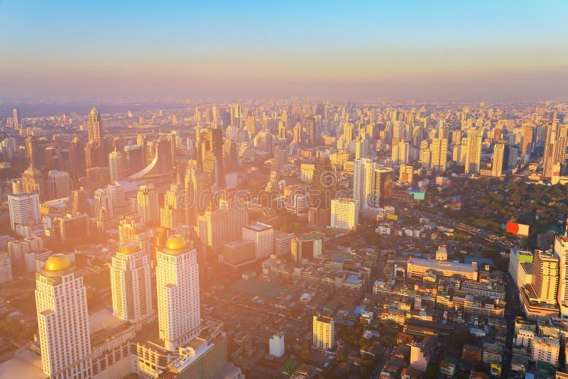 建立街市地平线的城市 库存图片