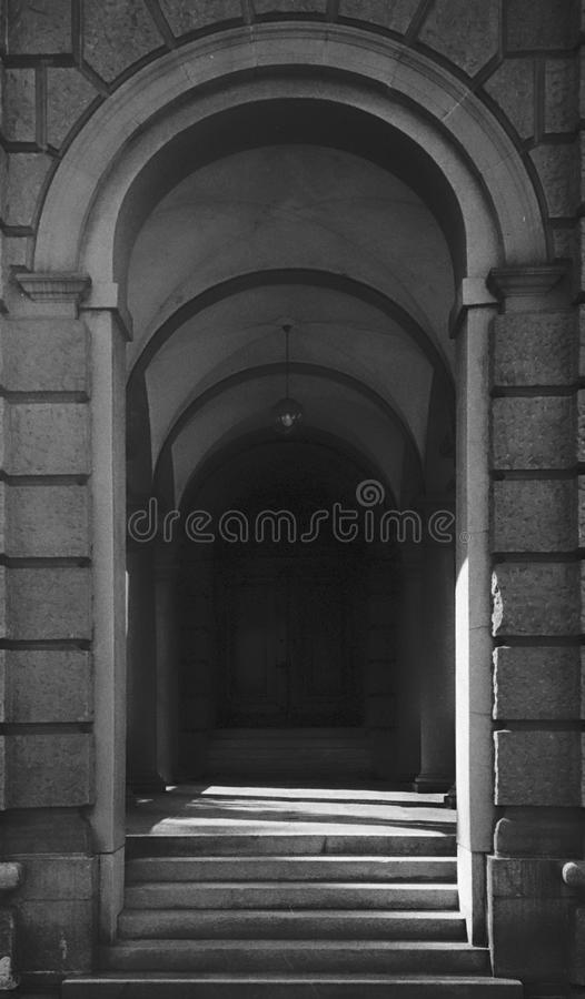 建筑学细节在苏黎世老镇的中心 库存照片