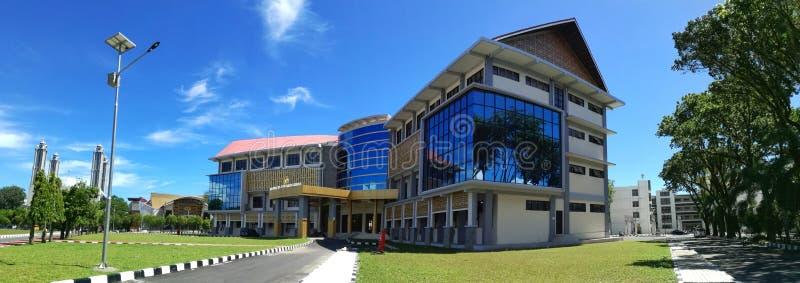 建筑学, campuss修造 免版税库存照片