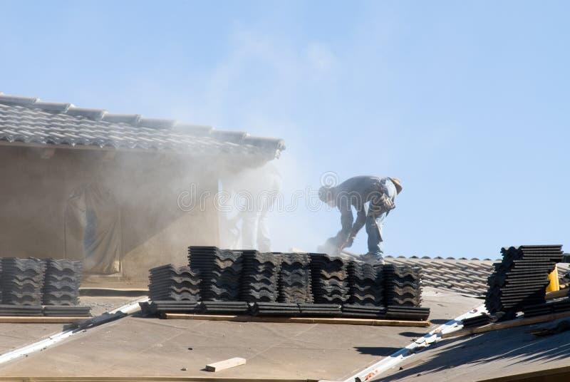 建筑屋顶 库存图片