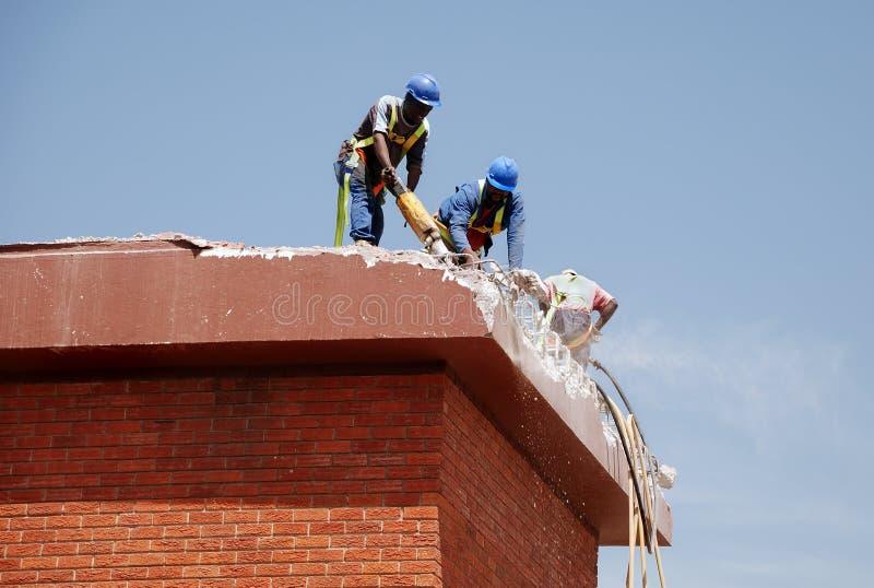 建筑工人 库存照片
