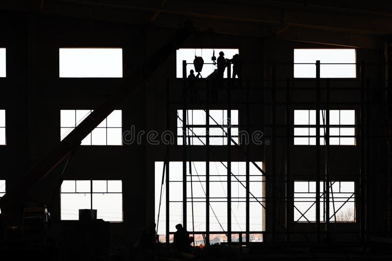 建筑工作 库存照片