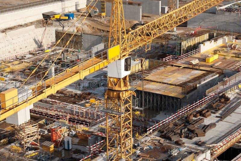 建筑工地 免版税库存照片