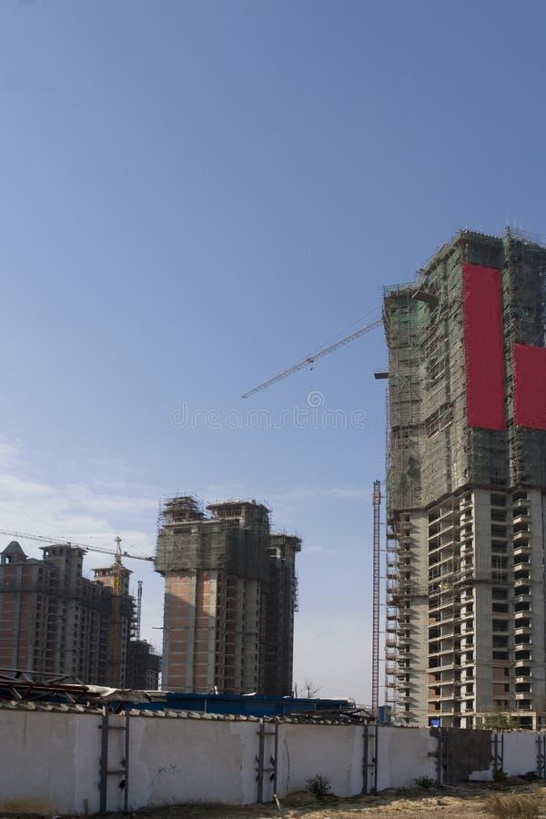 建筑工地 免版税图库摄影