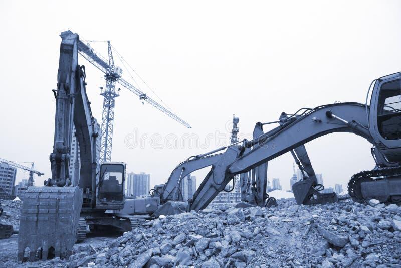 建筑工地 免版税库存图片