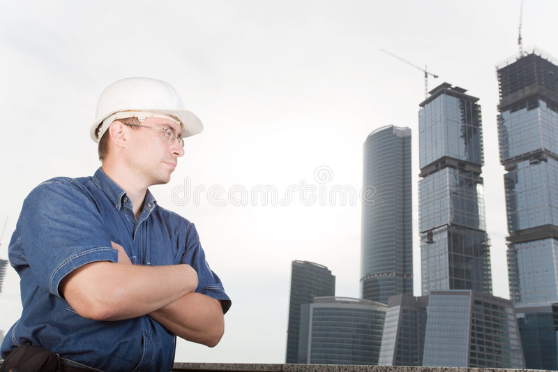建筑师 免版税库存照片