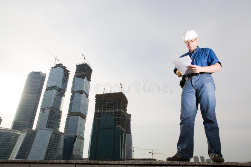 建筑师 库存图片
