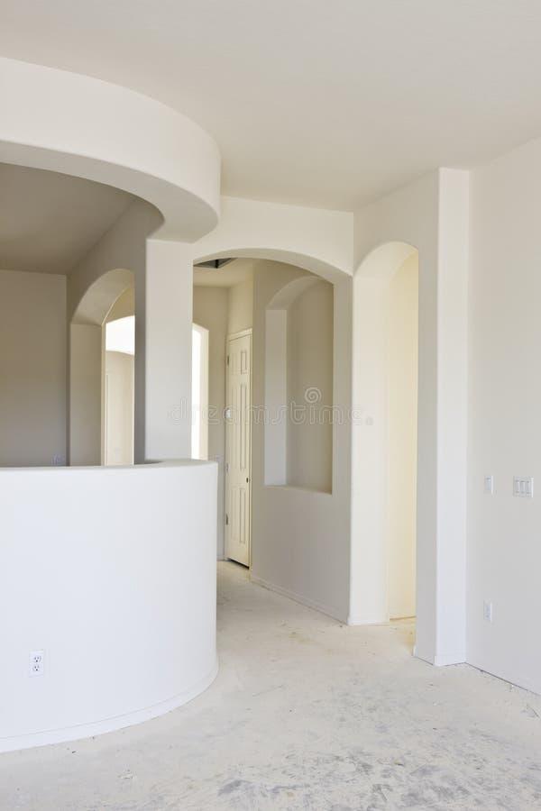 建筑干式墙内部新 免版税图库摄影