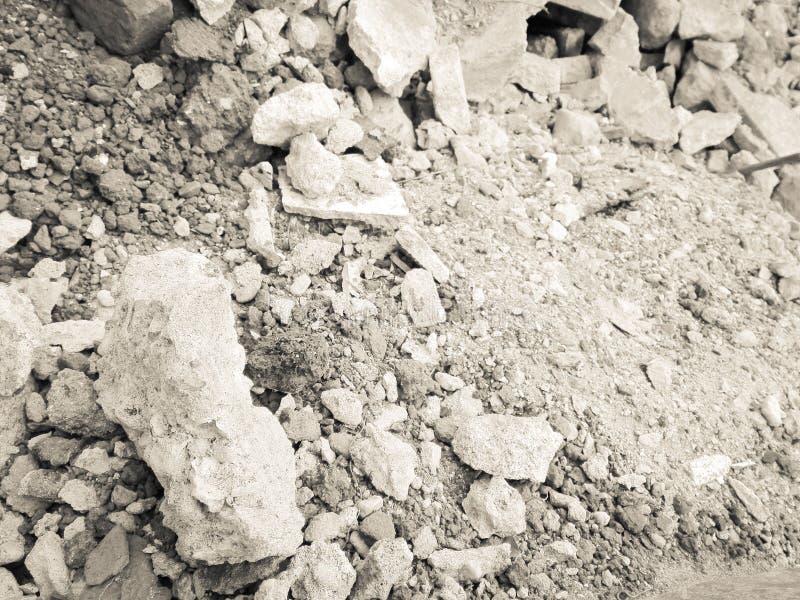 建筑废灰色和白色 库存图片