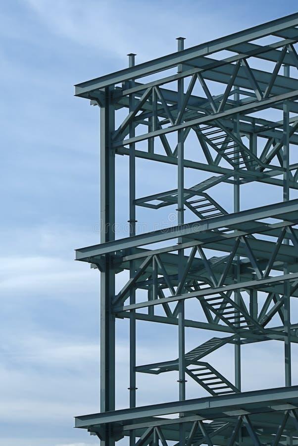 建筑框架钢 免版税库存图片