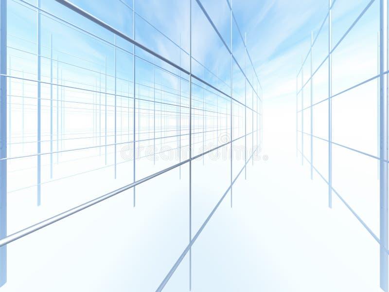 建筑框架 向量例证