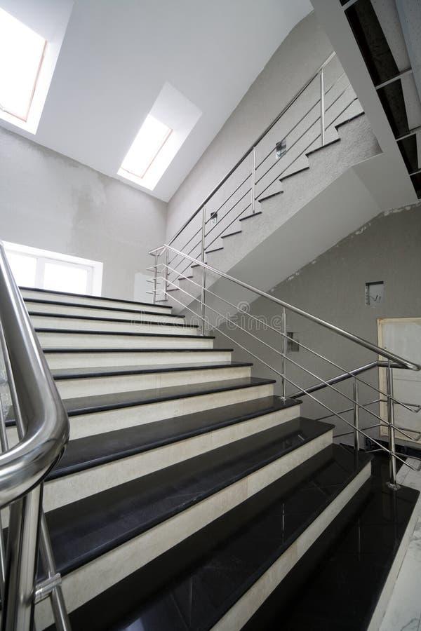 建筑楼梯 免版税库存图片