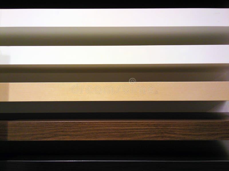 建筑目的软的颜色的线 免版税库存图片